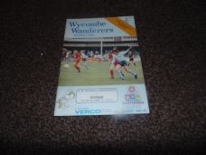 Wycombe Wanderers v Enfield, 1988/89